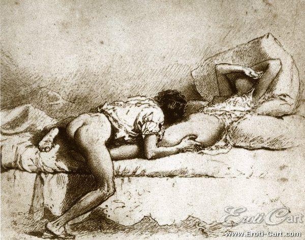 Conheça as ilustrações eróticas de Mihály Zichy, pintor Húngaro que desenhou uma série com ideias bastante perversas para a época (quase 200 anos atrás).