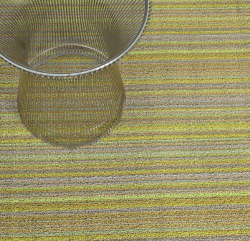 Chilewich Indoor Outdoor Big Mat Skinny Stripe Citron 36