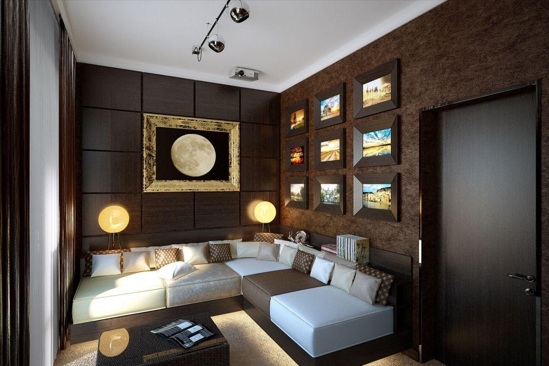 wohnzimmer einrichten brauntone. Black Bedroom Furniture Sets. Home Design Ideas