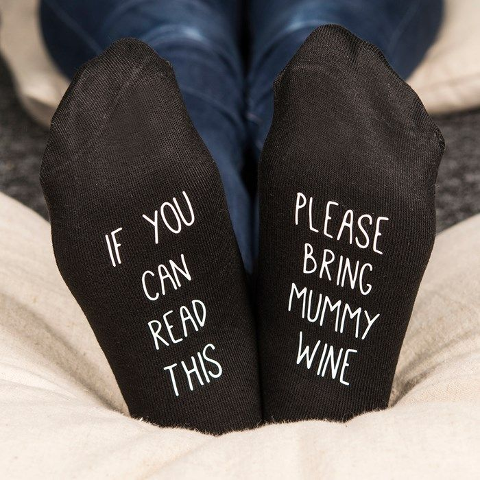 Birthday Gifts Personalised Socks If You Can Read This