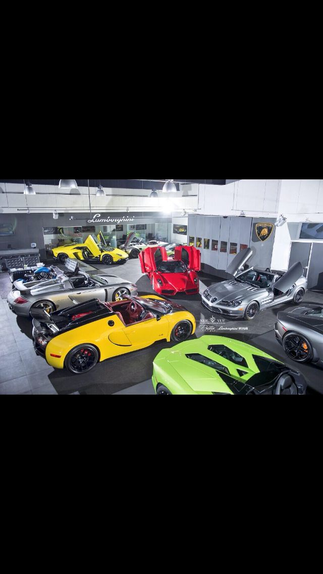 Wow can I have all of them #Lamborghini