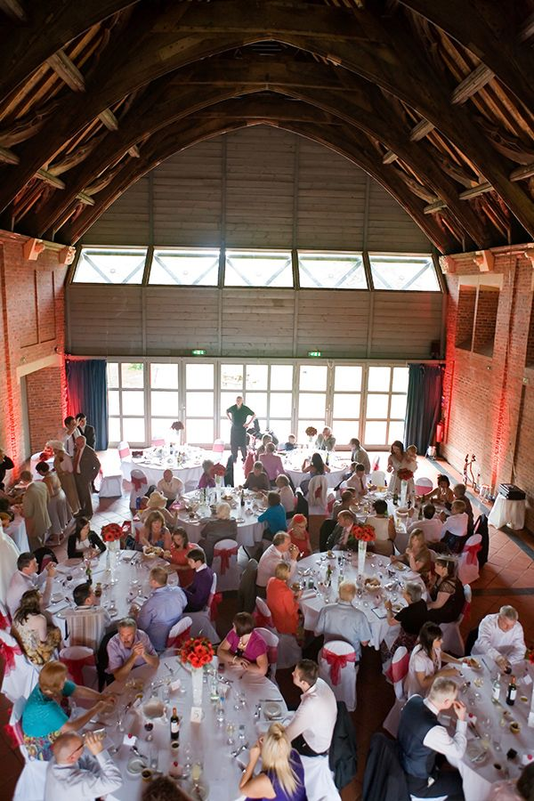 Wedding Breakfast In The New Guesten Hall Avoncroft