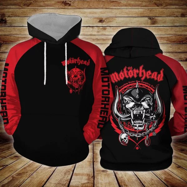 Motorhead Logo 3d hoodie, bomber and shirt hothot 190320