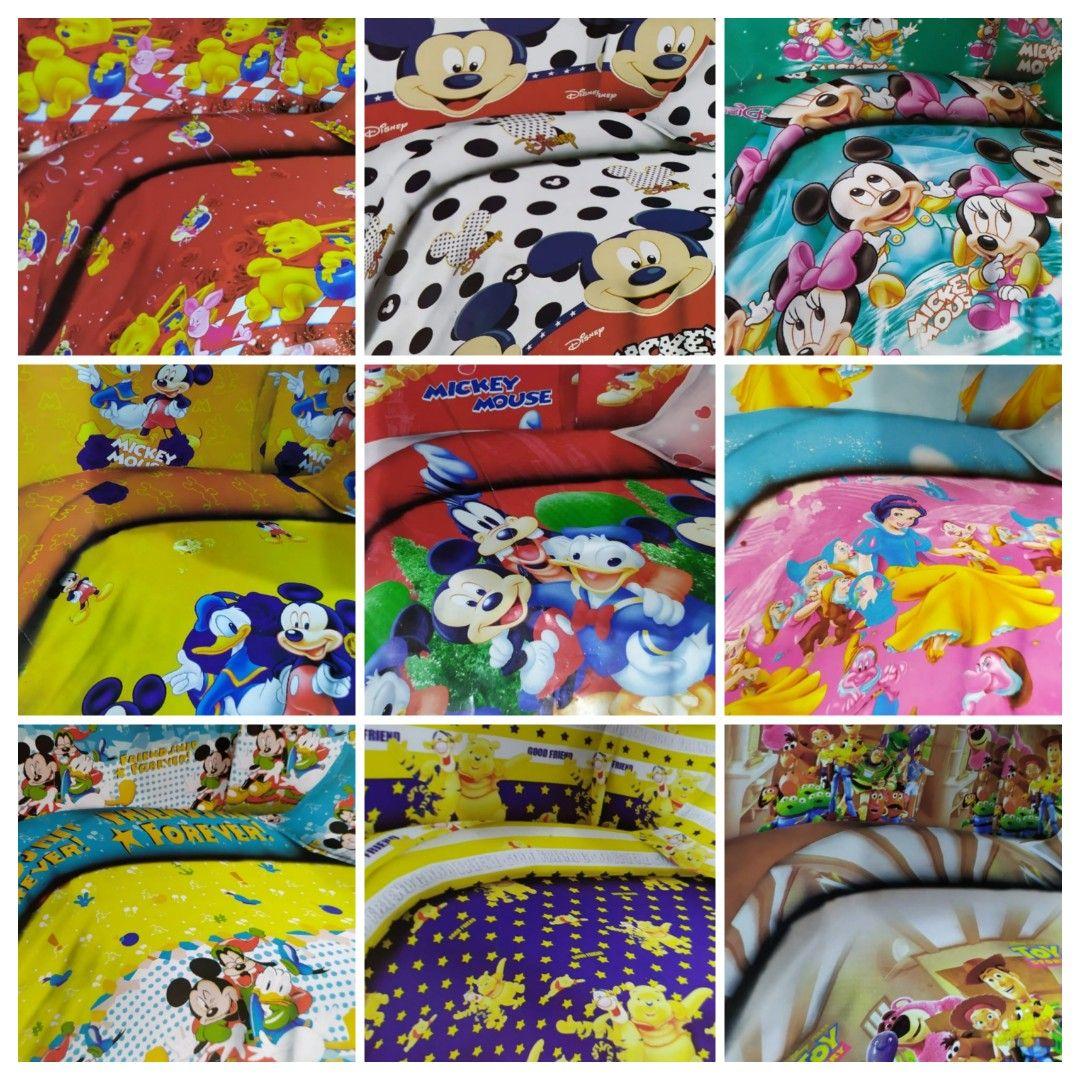 ملايات اطفال اشكال ديزنى Kids Rugs Bed Sheets Home Decor