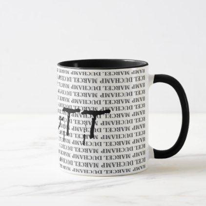 R Mutt Marcel Duchamp Mug Zazzle Com Mugs Dinnerware Set Coffee Mugs