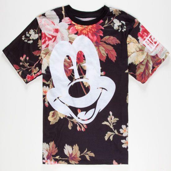 3da2884d NEFF Disney Collection Mickey Face Mens T-Shirt 232387957 | Graphic Tees |  Tillys.com