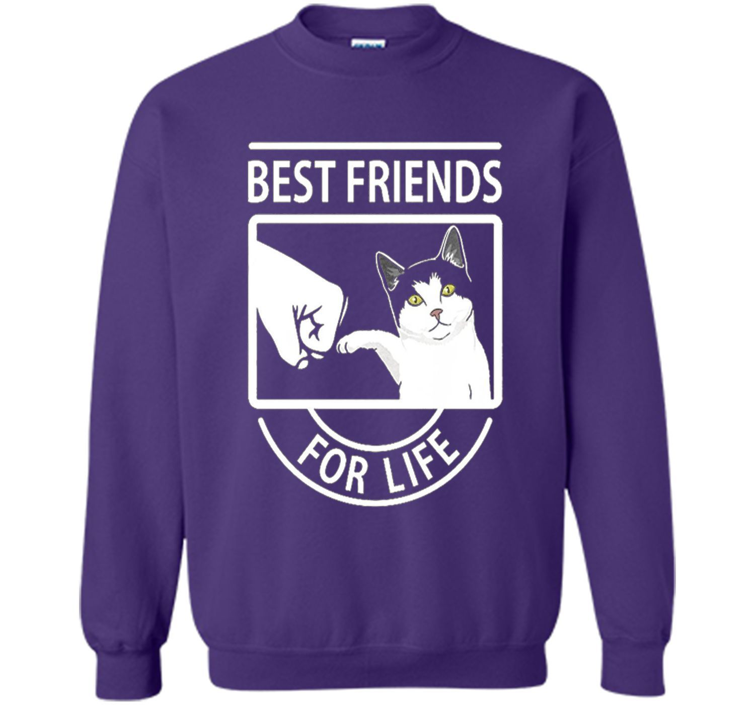 Cat Best Friends For Life Trending Cat Christmas T Shirts