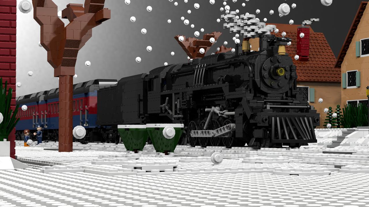 The Polar Express Polar Express Lego Trains Polar