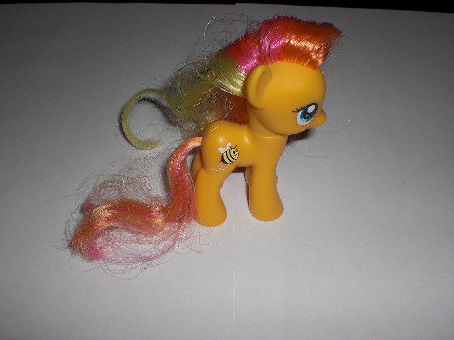 My Little Pony Brony G4 Fim 3 Vinyl Brushable Hair Figure Honeybuzz My Little Pony Little Pony Pony
