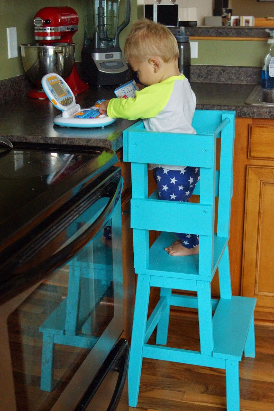 Midwest Pillowtalk: IKEA learning tower hack | For Baby | Pinterest ...