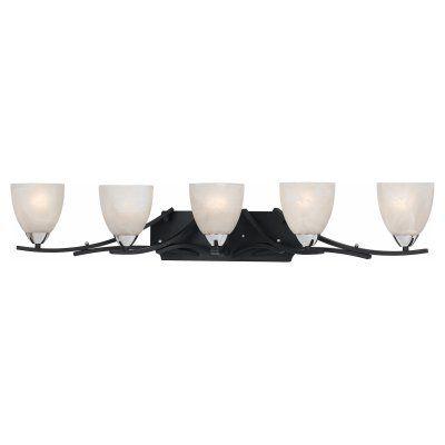 Lumenno Value 5 Light Bathroom Vanity Light - 8004-00-05, Durable