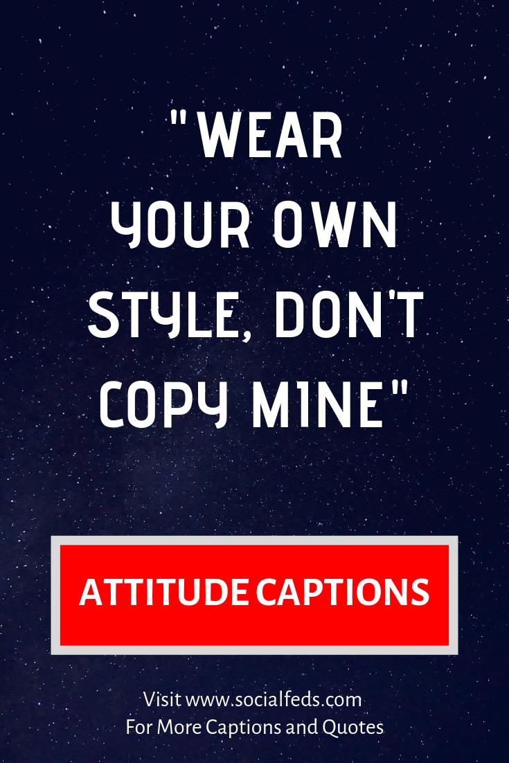 Attitude Caption For Boys Pic