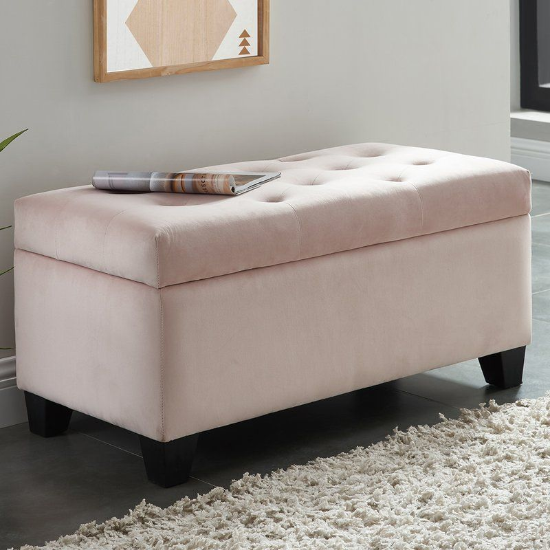 Durant Tufted Storage Ottoman With Images Storage Ottoman