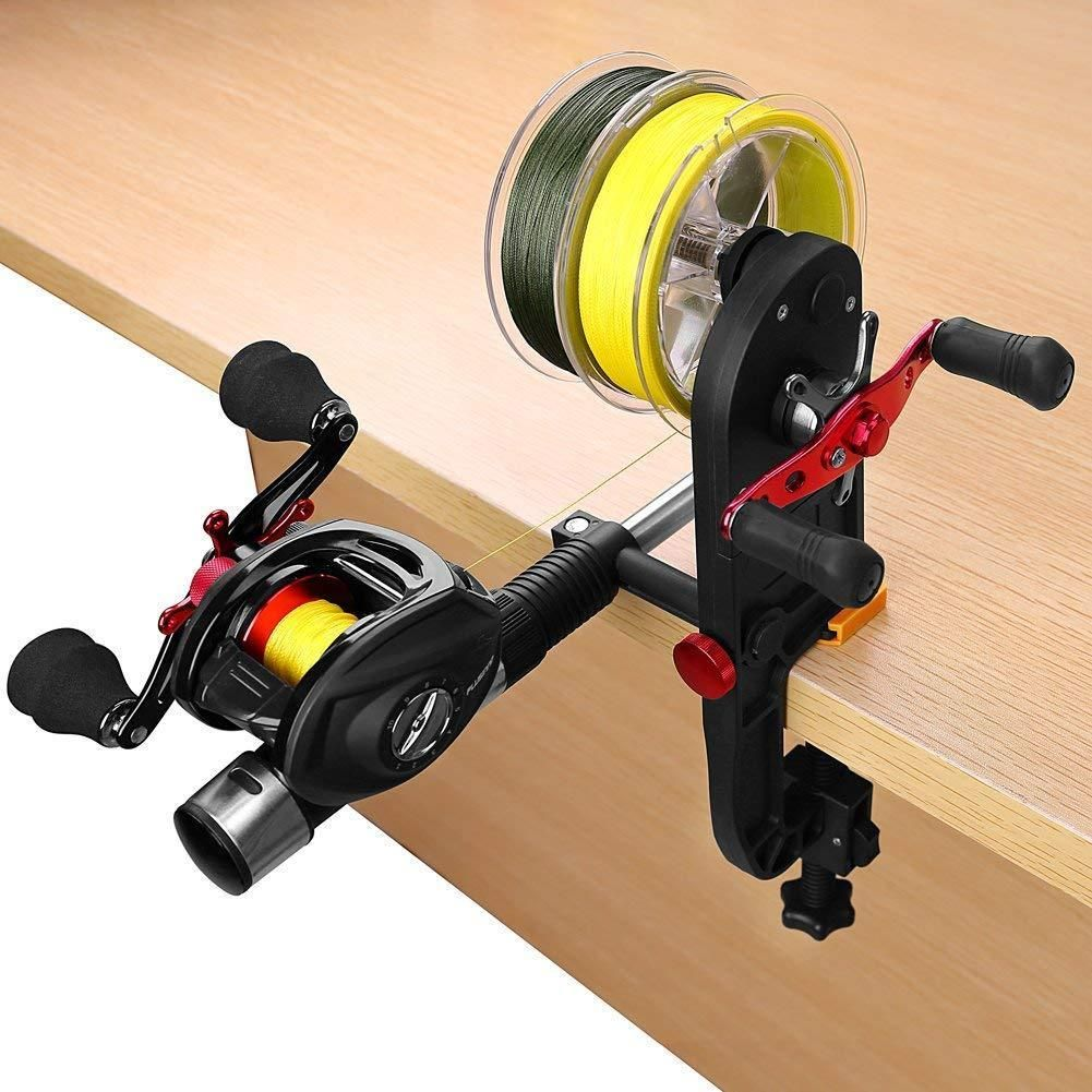 Fishing Line Winder Fishing Reel Spool Spooler System Outdoor Fishing Accessory