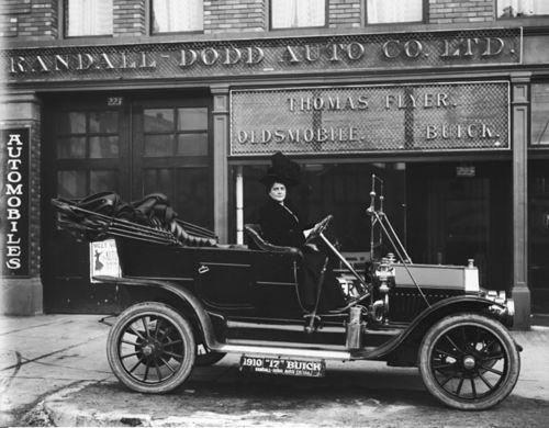 Harry Shipler 1910 Buick Model 17 At Randall Dodd Auto Company