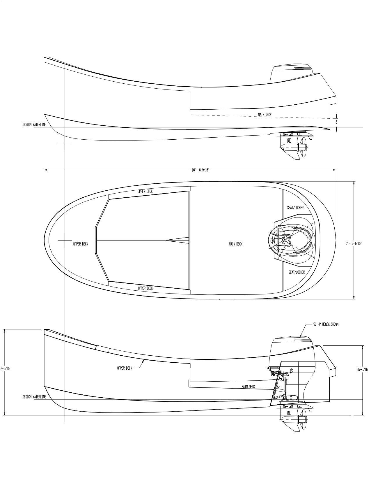 trailerable houseboat plans aluminum boat aluminum fishing boat aluminum tugboat mini tugboat [ 1275 x 1650 Pixel ]