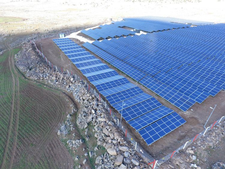 The Project In Gaziantep Turkey Source Ibc Solar Turkey Solar Solar Panel Cost Solar Panels For Home