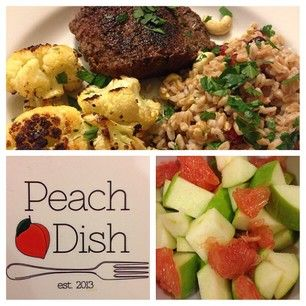 PeachDish #peach #georgia #meal #delivery #appetizer #entree
