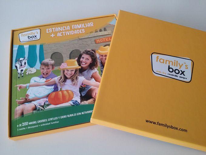 Family's box: regala tiempo en familia