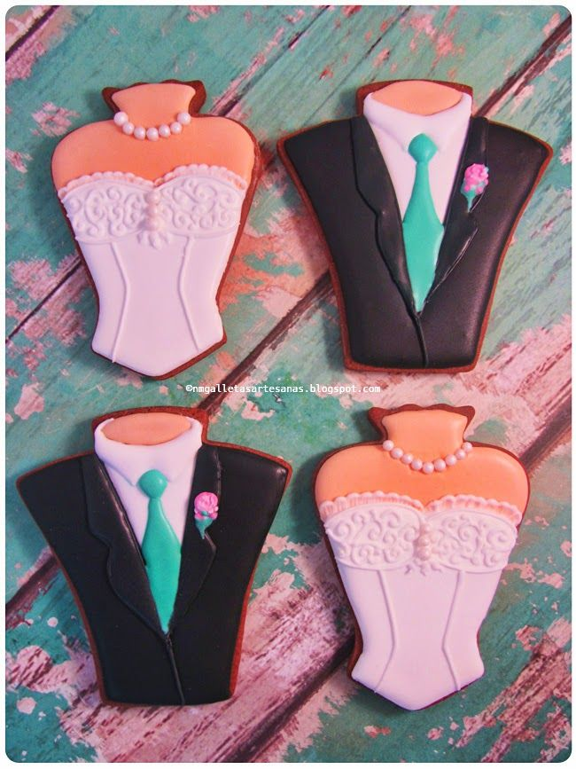 N M  Galletas Artesanas: Galletas de boda | Cookies