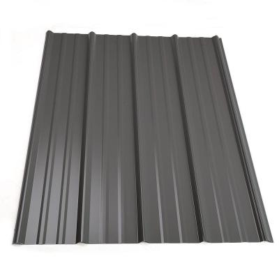 Metal Sales 8 Ft Classic Rib Steel Roof Panel In Charcoal 2313217