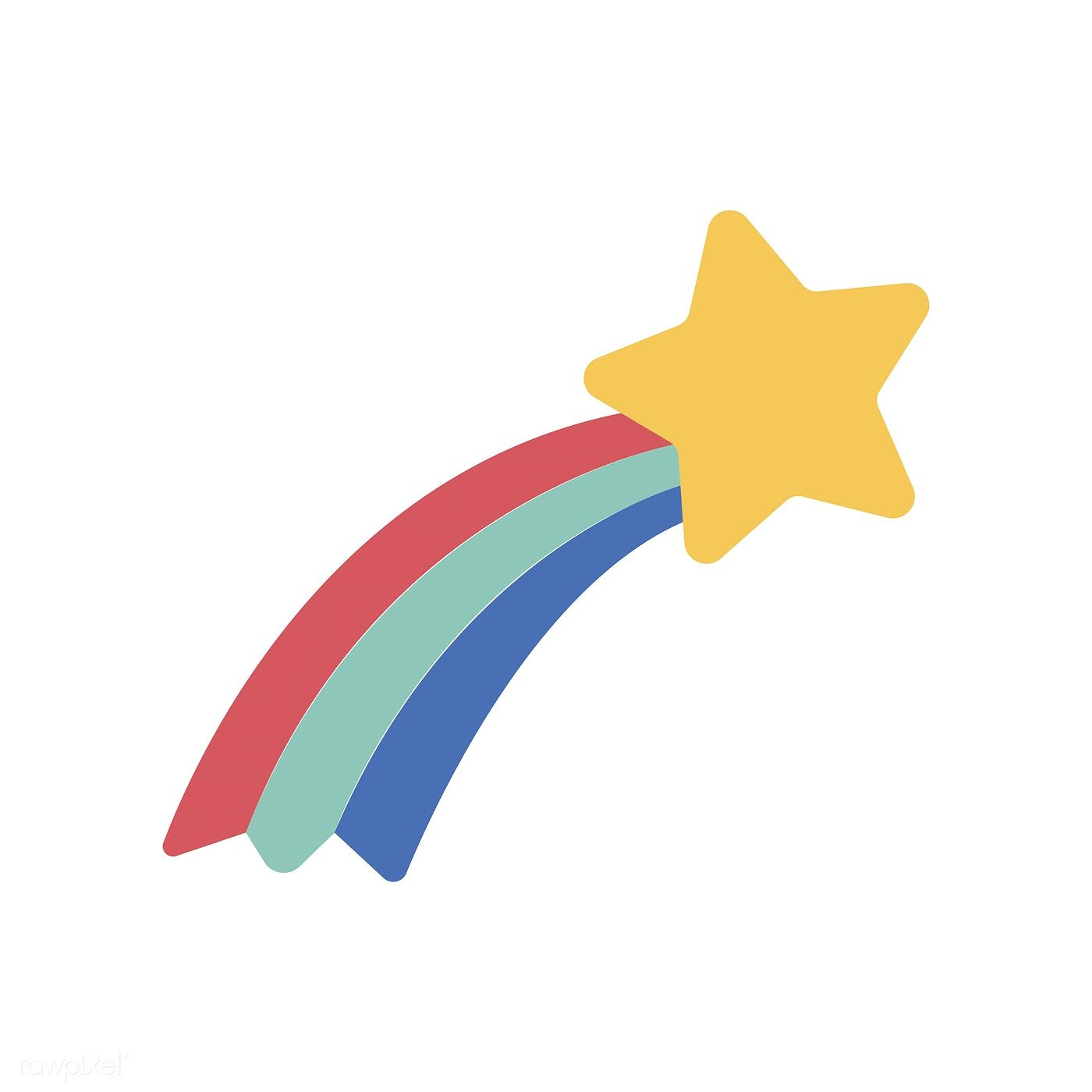 Illustration Of Shooting Star Icon Free Image By Rawpixel Com Fantasiereisen Fur Kinder Sternschnuppen Fantasiereisen