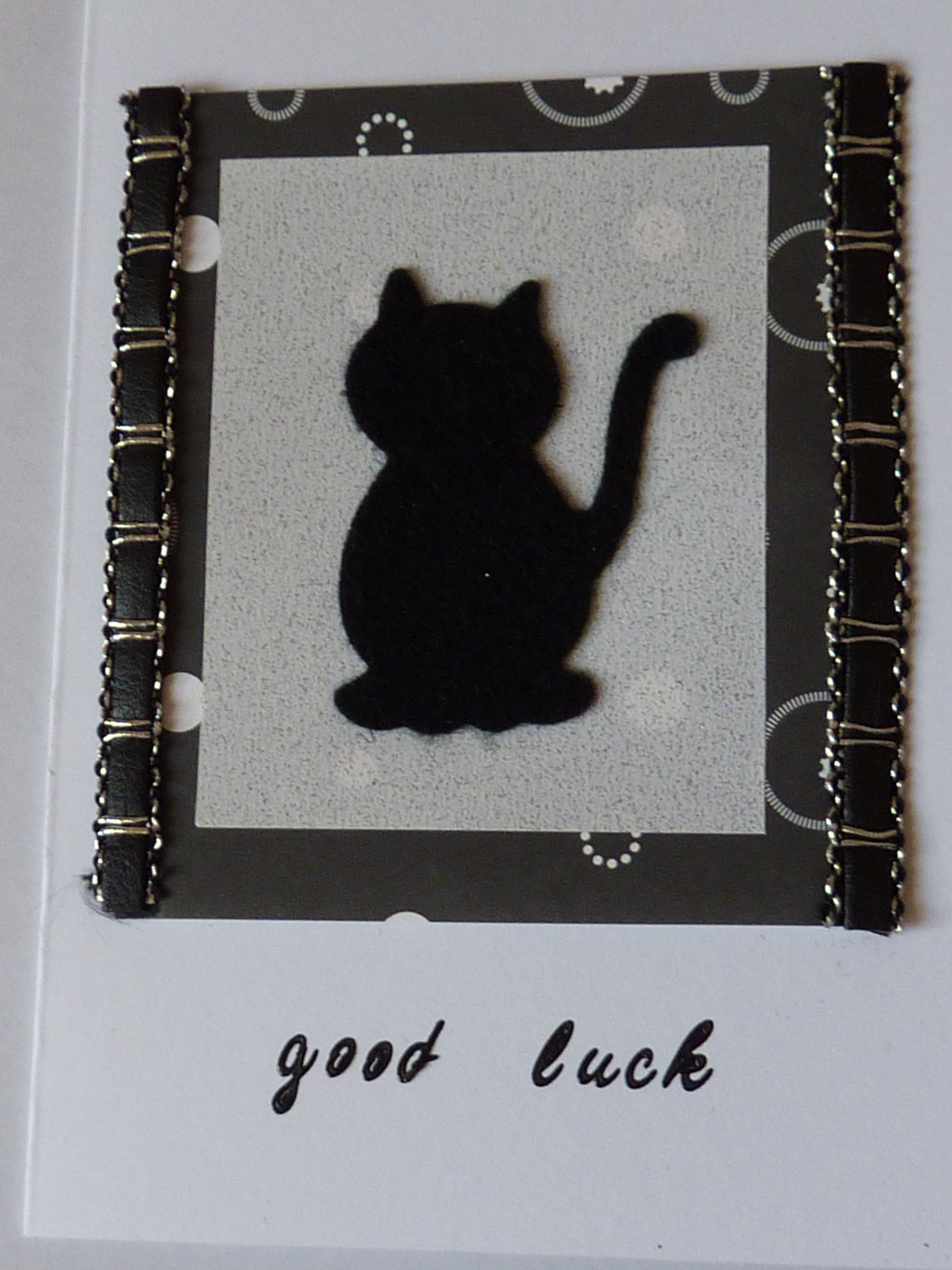 Good luck card good luck pinterest leaving cards craft and cards