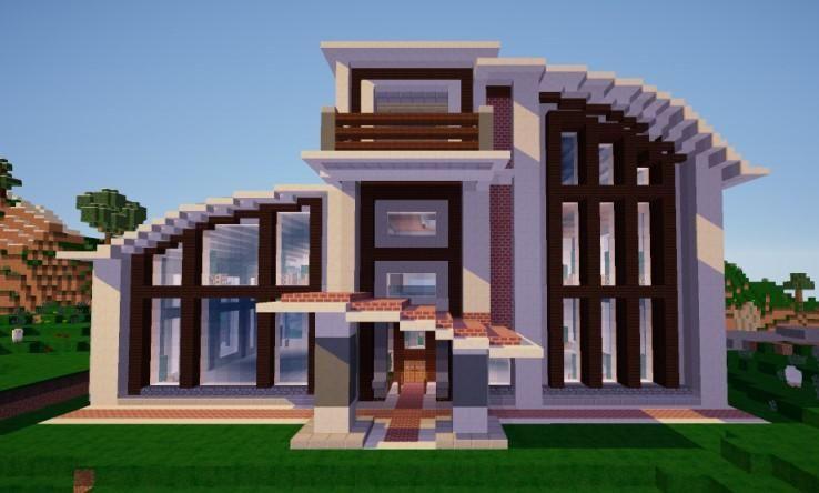 460+ Gambar Desain Rumah Modern House Minecraft Gratis Terbaru Download Gratis