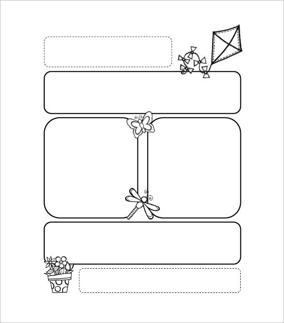 13+ Printable Preschool Newsletter Templates u2013 Free Word, PDF - newsletter templates free word