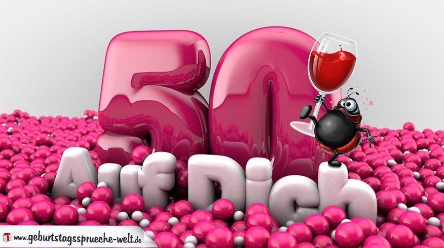 50zigster Geburtstag Bilder Awesome 50 Geburtstag Karte