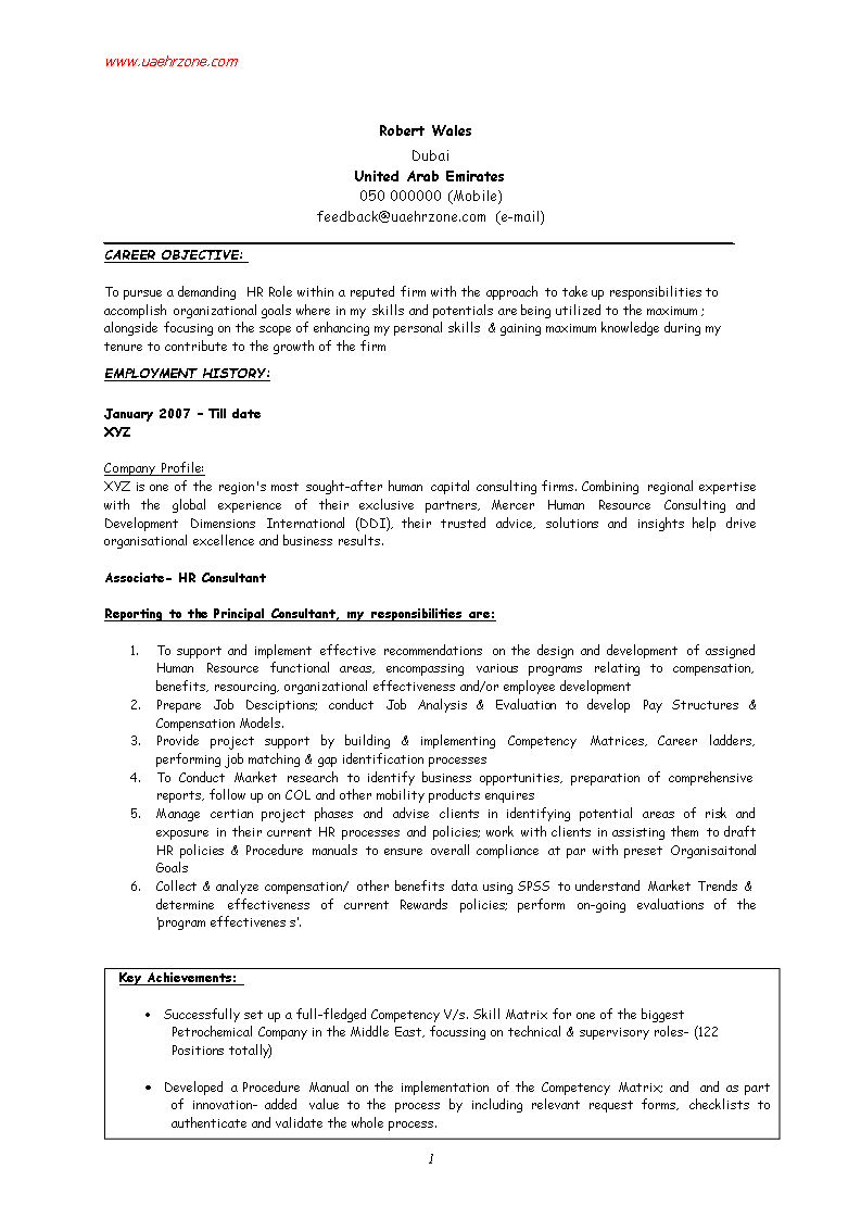 Hr Fresher Resume Format How To Create A Hr Fresher Resume Format Download This Hr Fresher Resume For Resume Templates Resume Format Resume Format Download