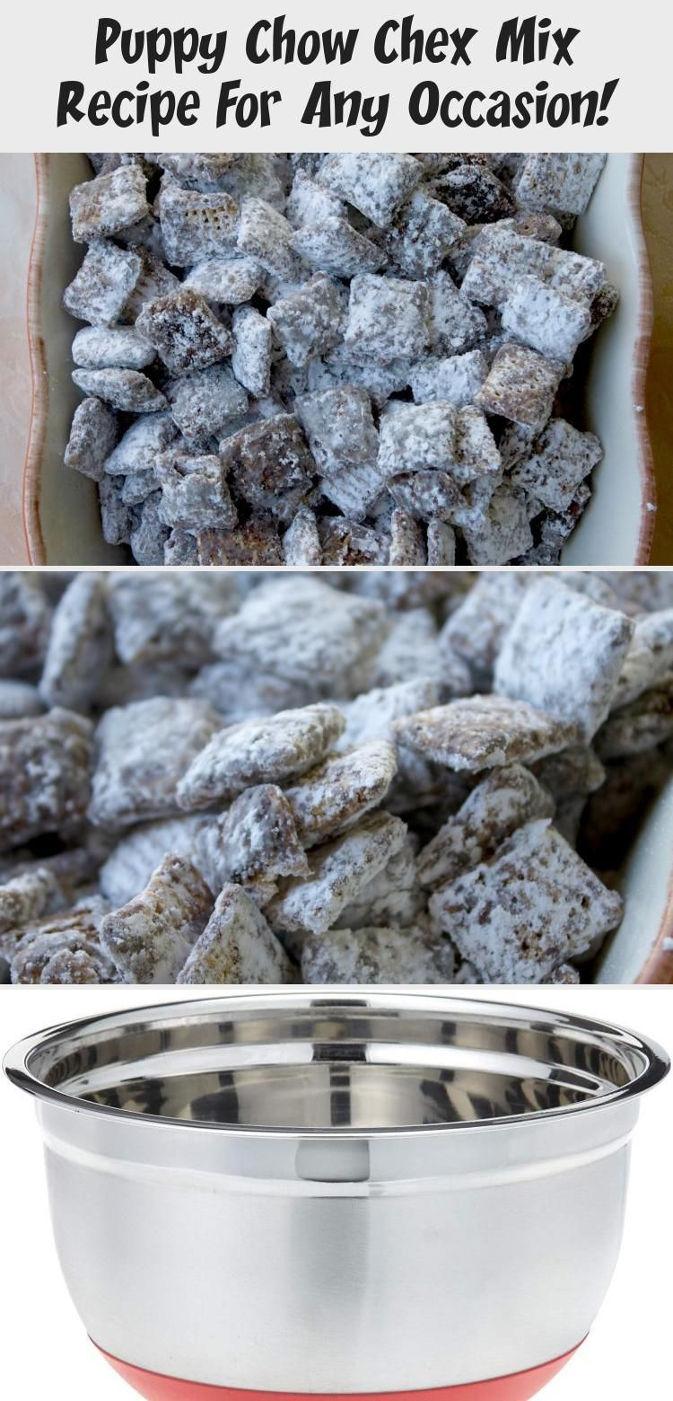 The Original Puppy Chow Chex Mix Recipe This Is Our Favorite Chocolate Treat To Make It S A Great In 2020 Puppy Chow Chex Mix Recipe Chex Mix Recipes Chex Puppy Chow