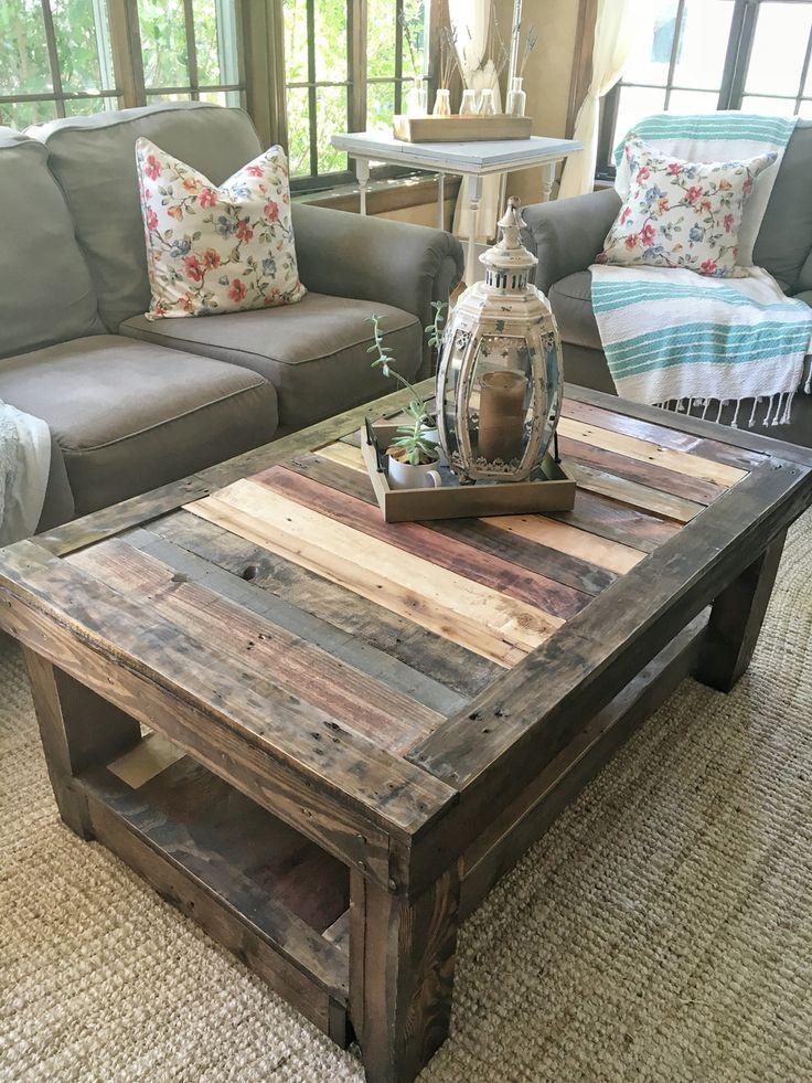 live edge coffee table design interior decoration diy pallet furniture wood pallet. Black Bedroom Furniture Sets. Home Design Ideas