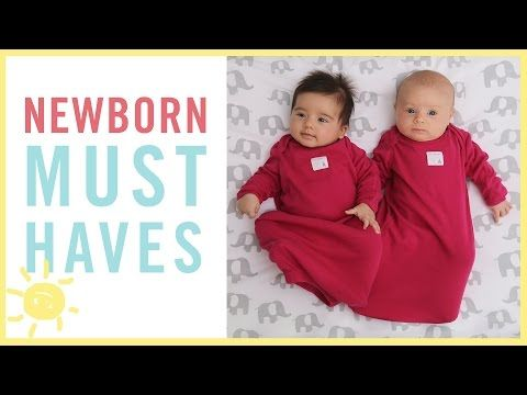 TIPS   Newborn Must-Haves - YouTube