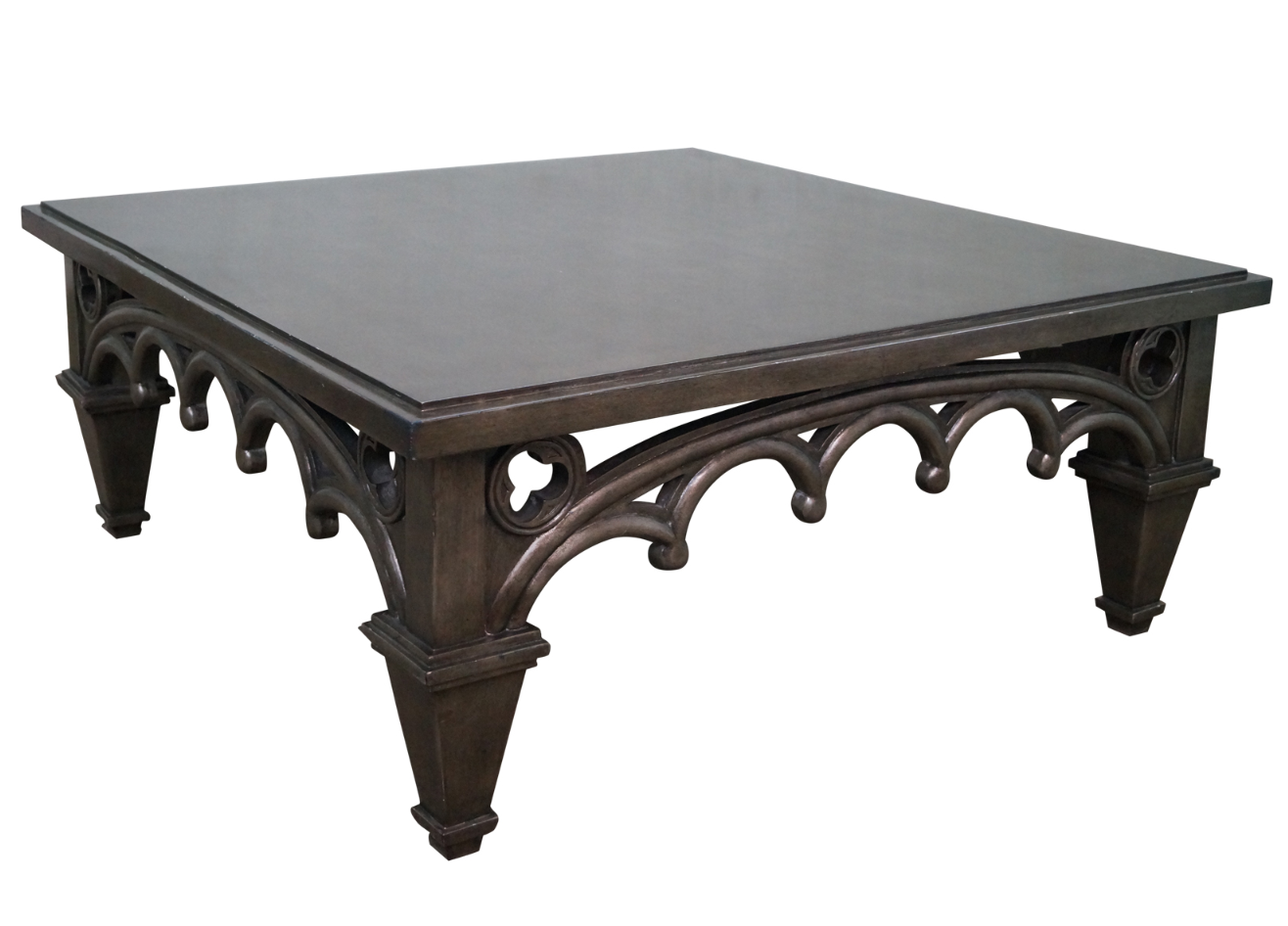 Gothic Couchtisch Gothic-style Painted Coffee Table | Painted Coffee Tables ...