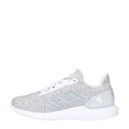 adidas Cosmic 2 sl hardloopschoenen wit/zilver in 2020 ...