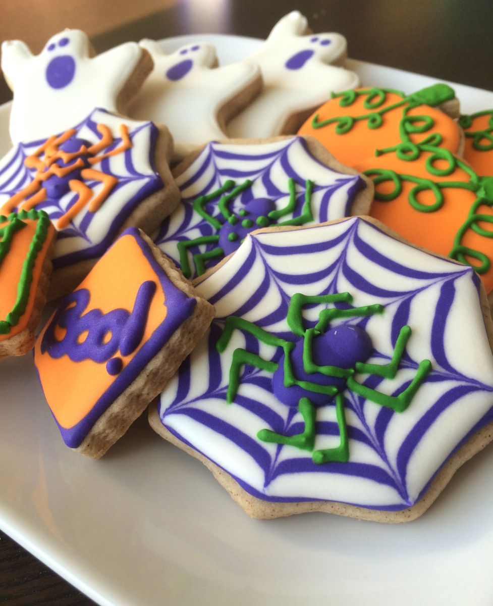 My New Obsession Decorated Cookies Surprise 30th birthday - Halloween Decorated Cookies