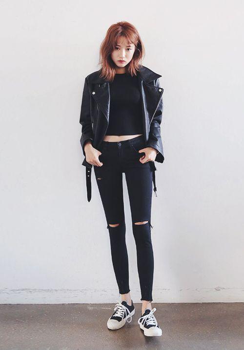 Stylenanda Torn Skinny Jeans Korean Fashion Skinny Jeans And Korean