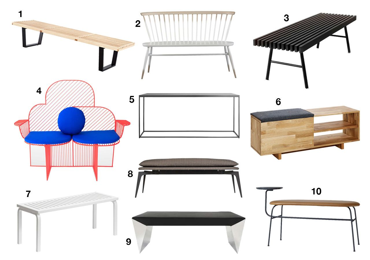 Awesome Cool Modern Benches To Up Your Seating Game Furniture Pabps2019 Chair Design Images Pabps2019Com