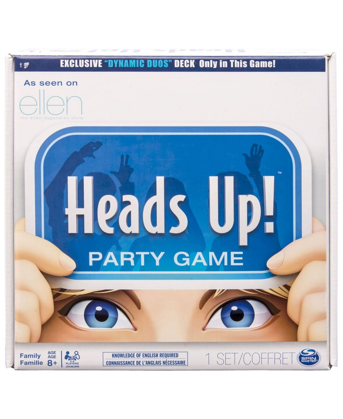 Heads Up! Spin master, Party games