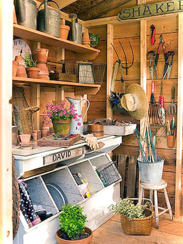Nice 53 Smart Garden Shed Organization Ideas https://roomaniac.com ...