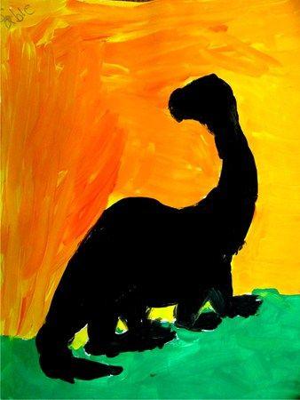Dinosaur Sunset