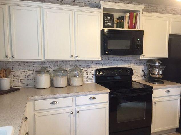 Builder Basic Kitchen Upgrade, Diy, Kitchen Design, Painting