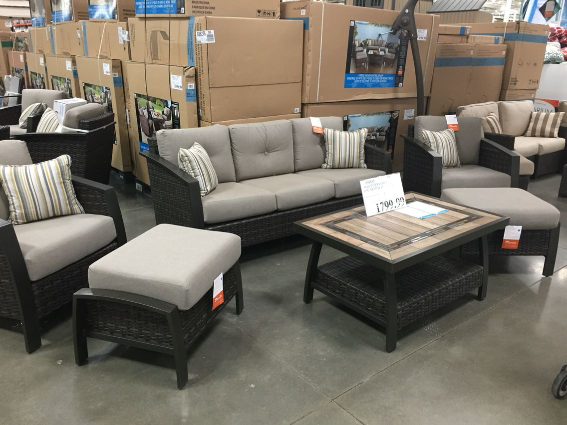 Agio International 6 Piece Patio Set From Costco 1799