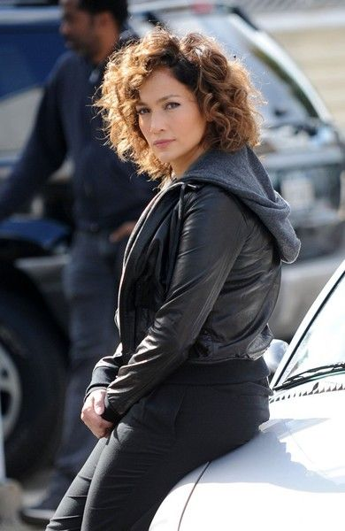 Jennifer Lopez Performs On The Set Of Shades Of Blue In Nyc