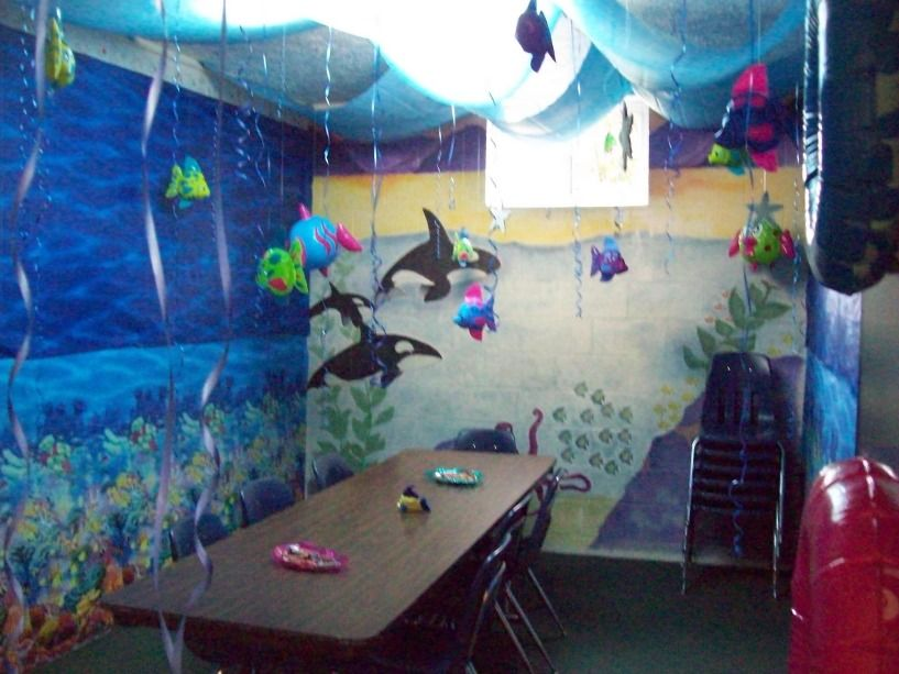 Summer Classroom Decorations Ideas : Under the sea classroom speech room classroom