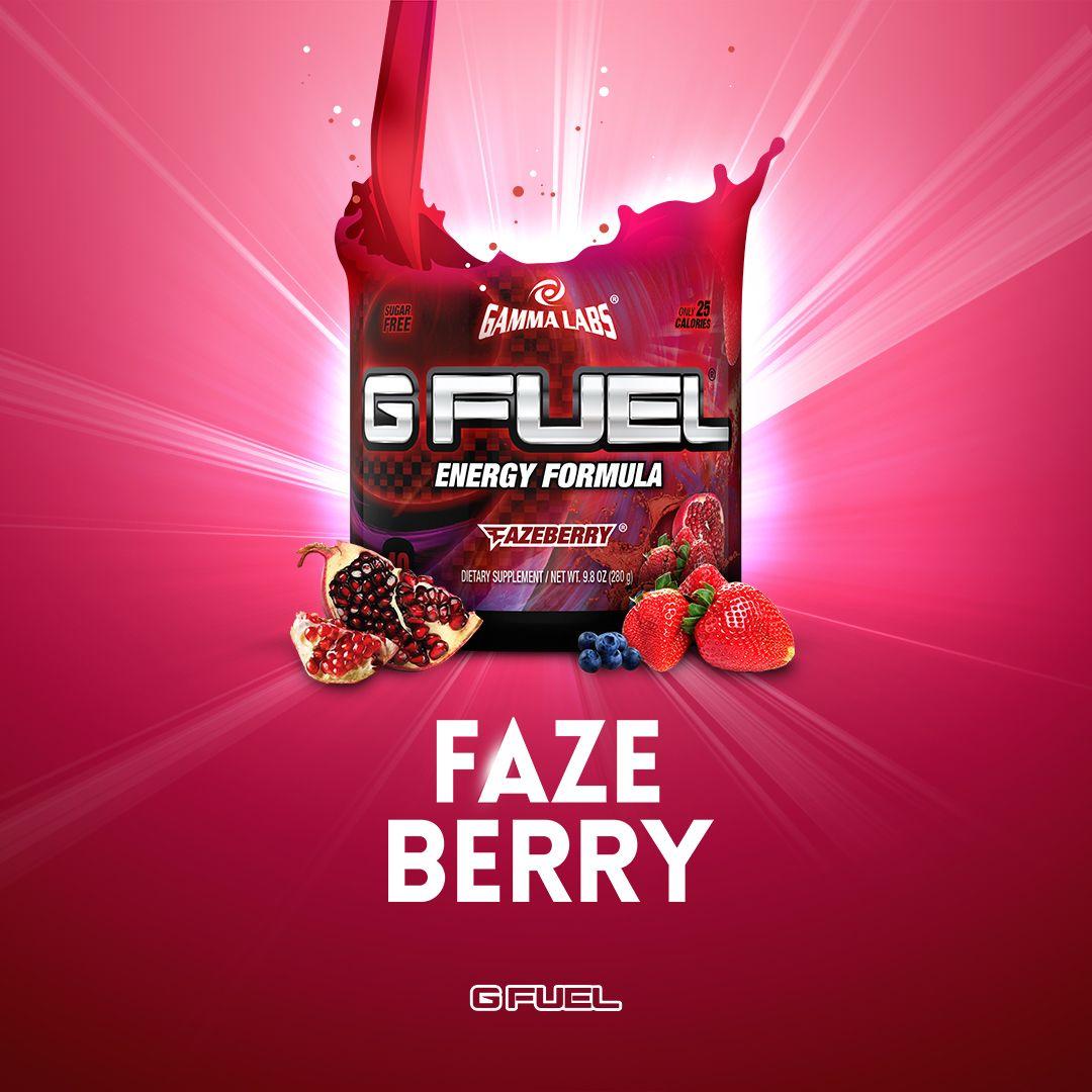 G Fuel Drink - FaZeBerry.   Food + Drink   Pinterest