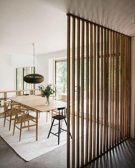 Pin de shamy chavez en muebles en 2019 dining room - Separador de espacios ...