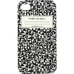 Kate Spade New York notebook iPhone case - http://windycase.com/kate-spade-iphone-5-case-notes-to-self.html#.UiFBbxsiXng