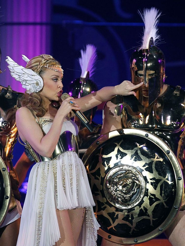 Dolce & Gabbana - Costume de Scène - Kylie Minogue 'Aphrodite' - Les Folies Tour  - Sydney - 2011